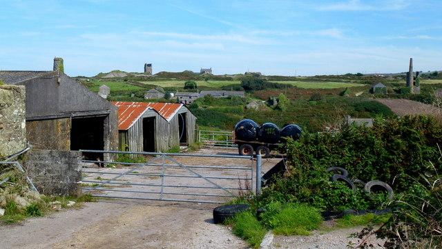 Farm buildings at Boscean