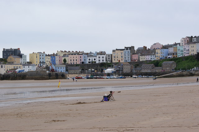 Just some peace and quiet! North Beach,Tenby