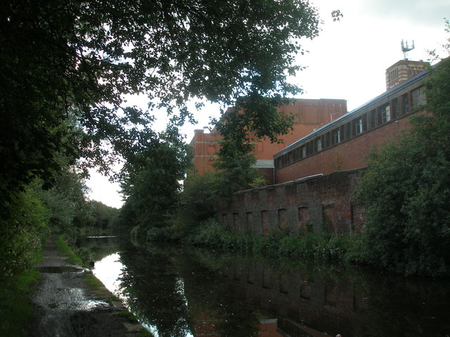 Canalside mill at Chadderton