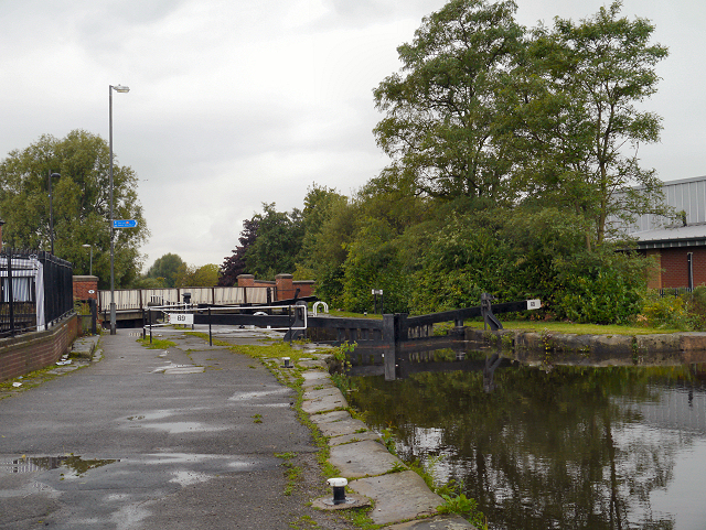 Rochdale Canal, Newton Heath Lock