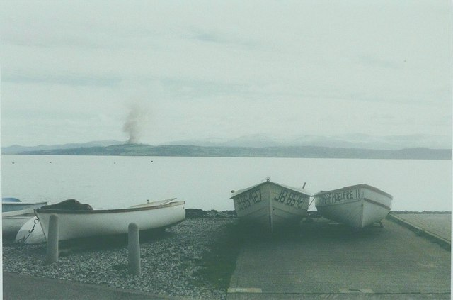 Boats at Moelfre