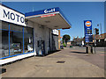TL5686 : Small petrol station and garage by Hugh Venables