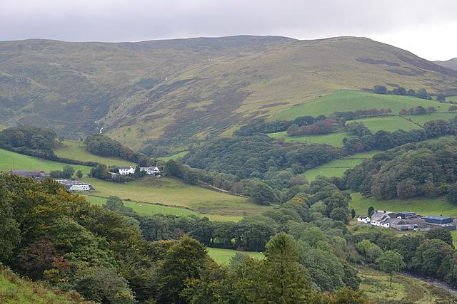 Fields in Cwmystwyth