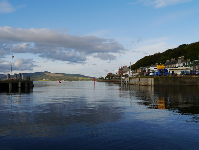 The Outer Harbour, Rothesay