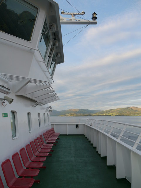 View From The MV Bute