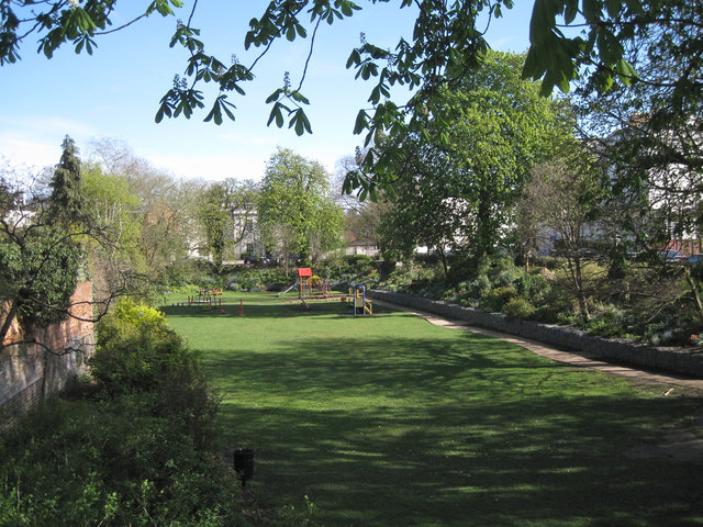 The Dell from the south, spring 2012