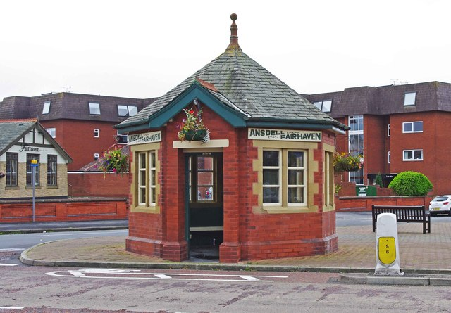 Former tram shelter in Clifton Drive, Ansdell, Lytham