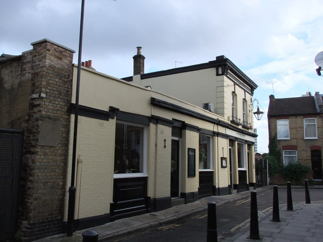 The Gun Public House, Coldharbour, London