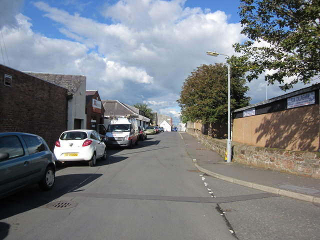 Green Street Lane, Ayr