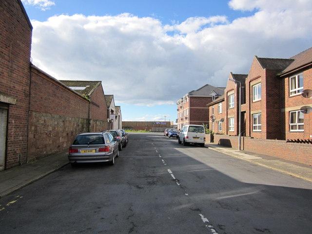 Oswald Lane, Ayr