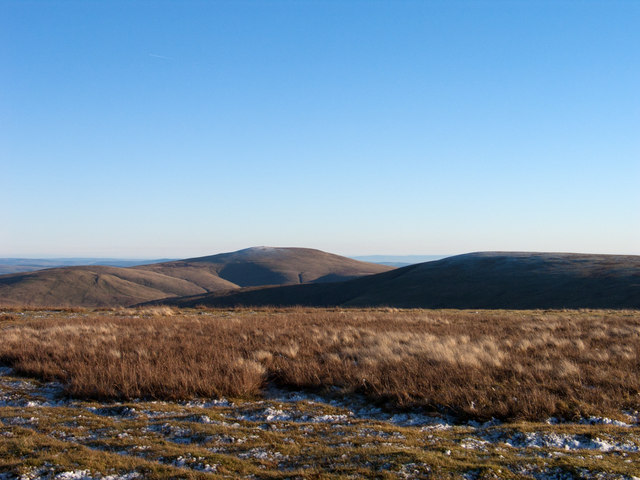 Summit area of Wedder Law