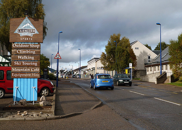 Grampian Road, Aviemore