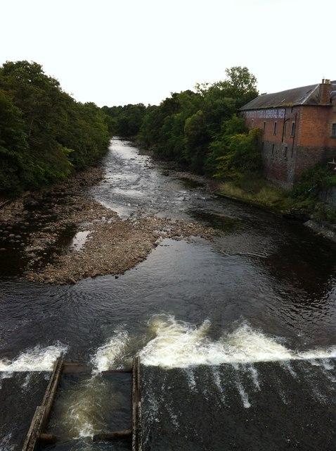 Weir on the River Ericht