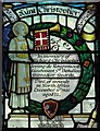 TQ5889 : St Mary the Virgin, Great Warley - Stained glass window by John Salmon