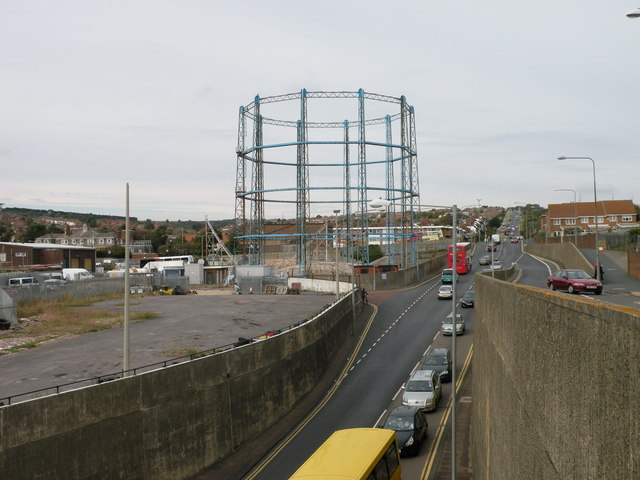 Gas works site