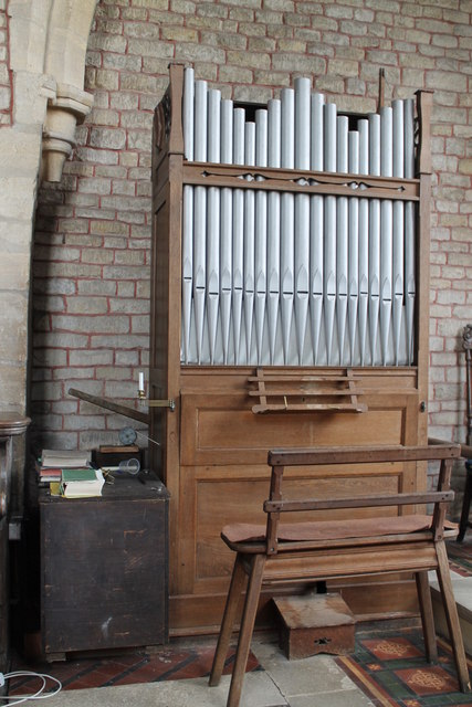 Organ, St Lawrence's church, Tallington