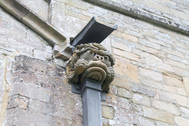 Gargoyle,  Ss Andrew & Mary's church, Stoke Rochford