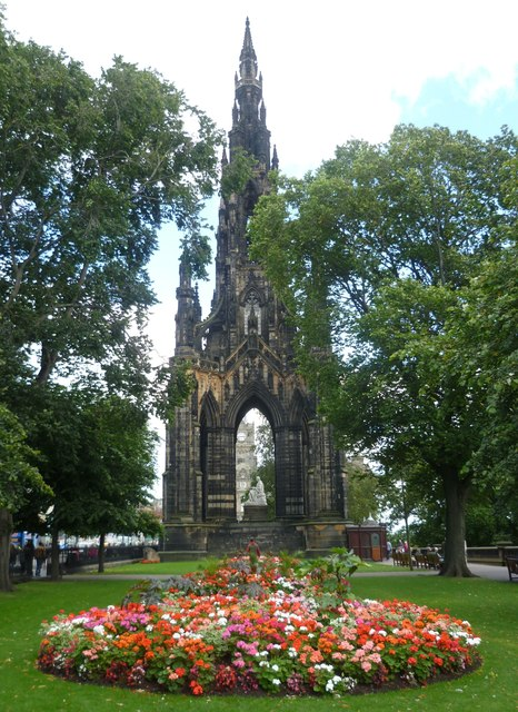 Scott Monument, East Princes Street Gardens
