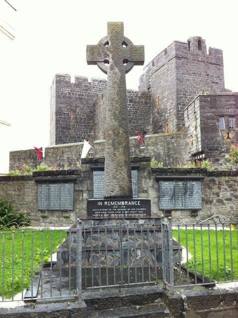 Castletown war memorial