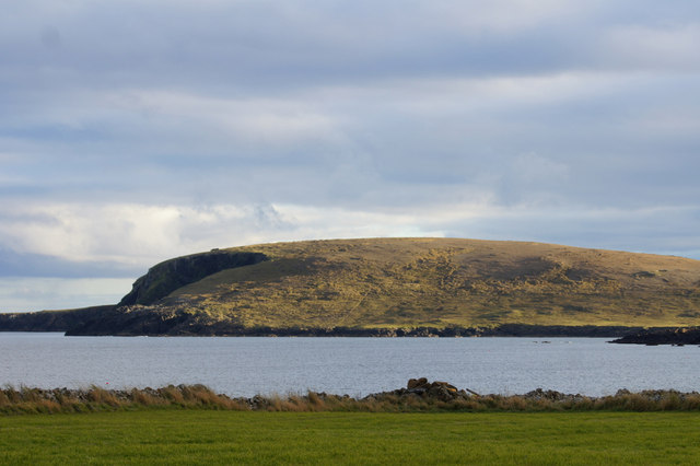 View to Keen of Hamar from Clibberswick