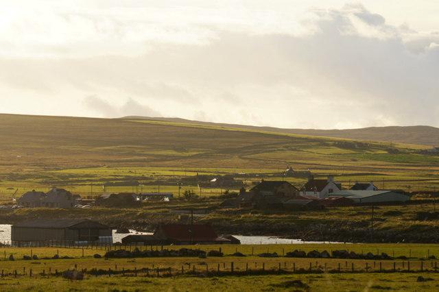 View to Haroldswick from Clibberswick