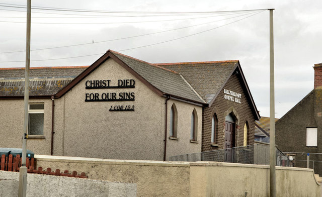 Ballyhalbert gospel hall
