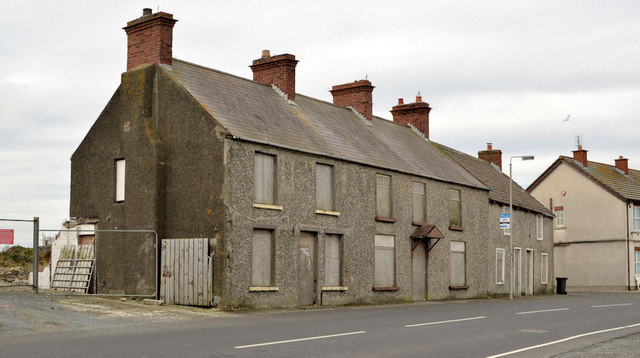 Derelict houses, Ballyhalbert