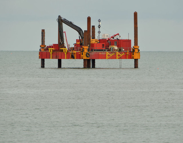 Jack-up rig, Ballyhalbert