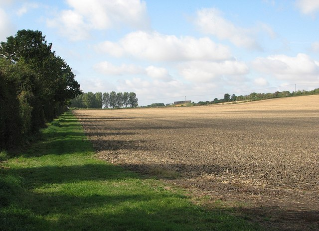 Footpath to Barton and Comberton