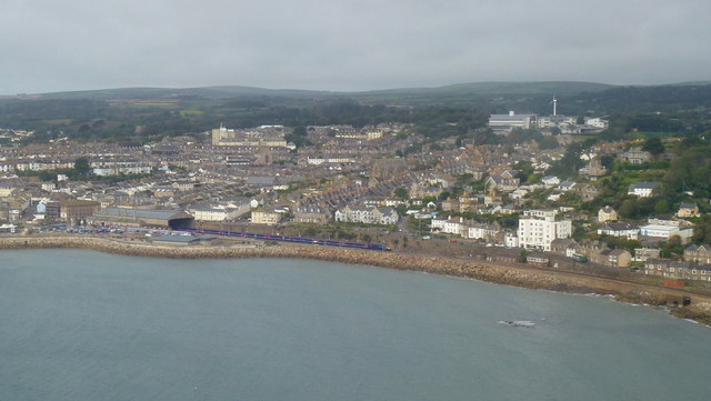 Penzance from the air 1