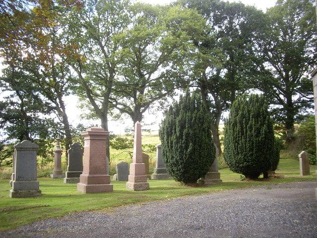 Upper graveyard, Drumoak Church