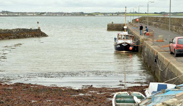 Ballyhalbert harbour