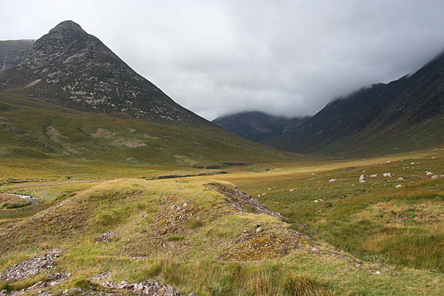 Spoil Heap in Glen Sannox