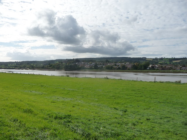 Newnham from across the Severn