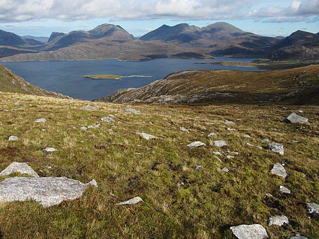Moorland on Beinn Losgaintir