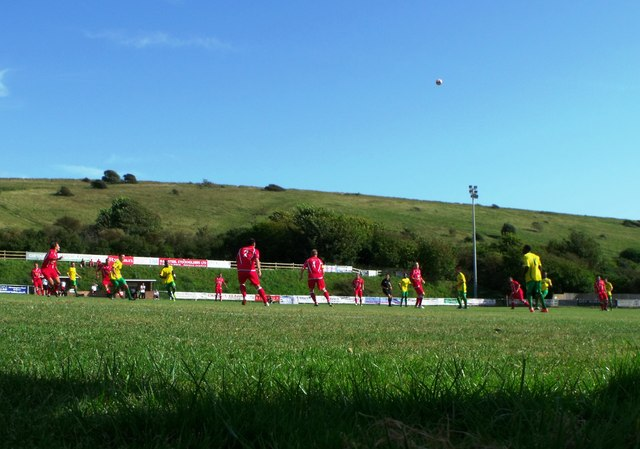 The  Enclosed Ground, home of Whitehawk FC