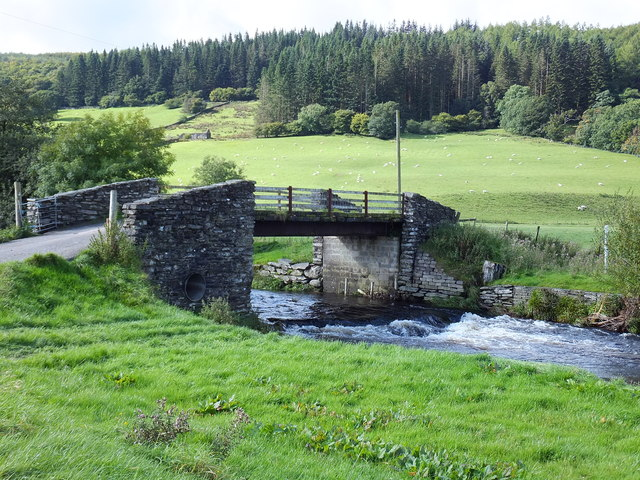 Bridge across Afon Machno