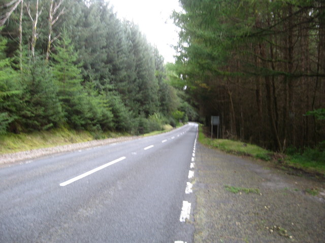 The A85 in Glen Dochart