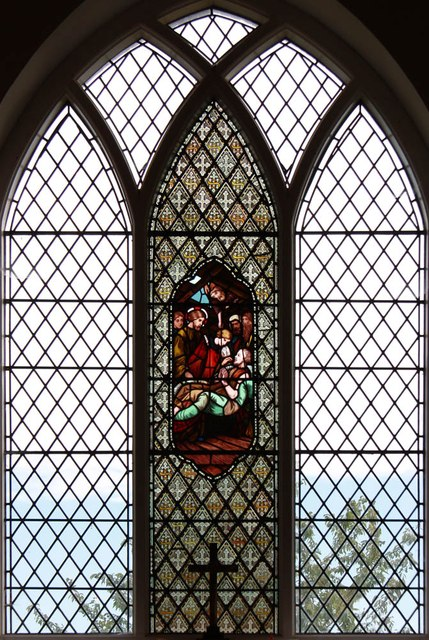 St Giles, Mountnessing - Stained glass window