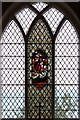 TQ6496 : St Giles, Mountnessing - Stained glass window by John Salmon