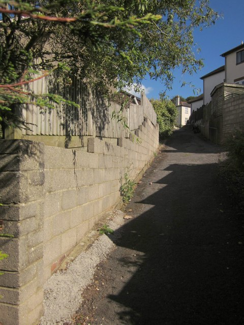 Alley off Chatto Road, Torquay