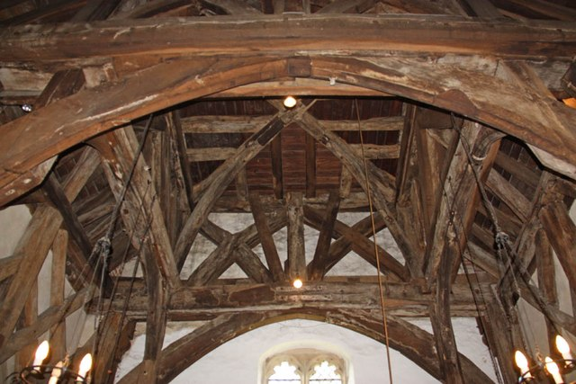 St Giles, Mountnessing - Tower timbers