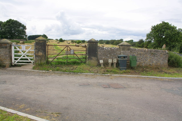 Whashton Road entrance to Richmond Racecourse
