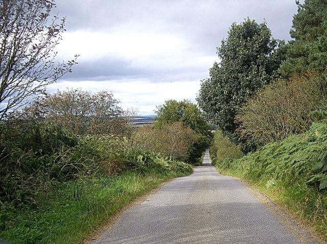 Downhill to Burnside junction