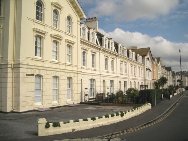 South end of Powderham Terrace