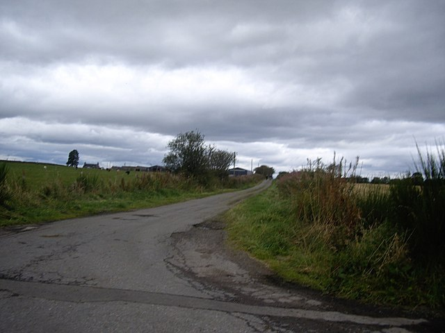Minor road to East Quartains
