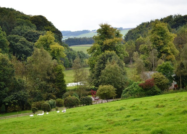 View south from the Monsal Trail near Rowdale House