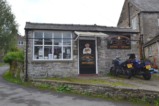Butcher's shop in Great Longstone