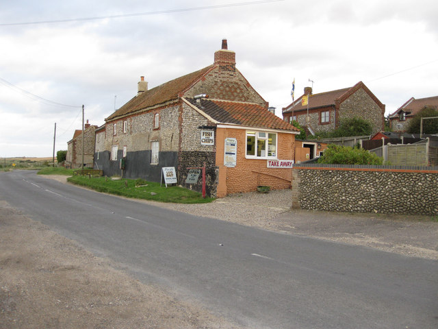 The chippy at Salthouse