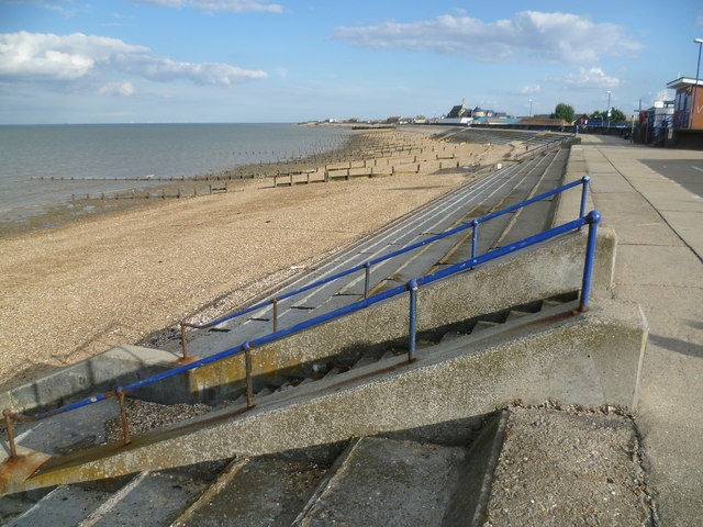 The seafront at Sheerness